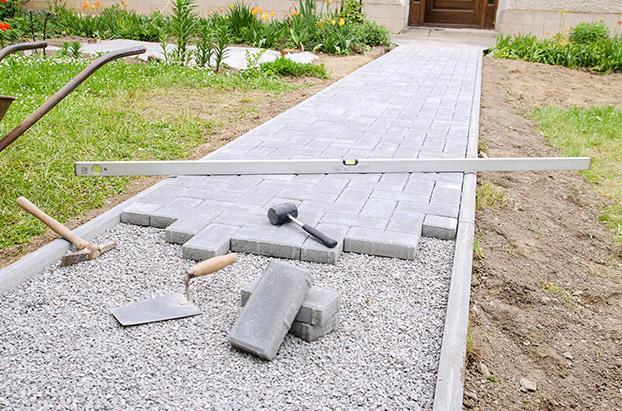 Aménagement extérieur à Longny-les-Villages